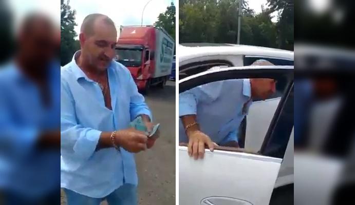 Empresário doa R$ 5 mil para voluntários que realizavam entregas de marmitas aos caminhoneiros