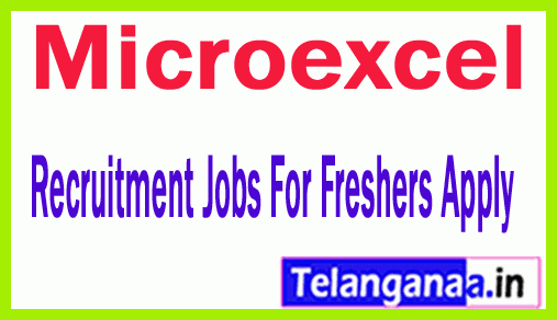 Microexcel Recruitment Jobs For Freshers Apply
