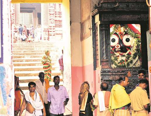 twenty-two steps ( baisi pahacha ) inside the complex Shree Jagannath temple