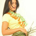 Andrea Rincon, Selena Spice Galeria 13: Hawaiana Camiseta Amarilla Foto 24