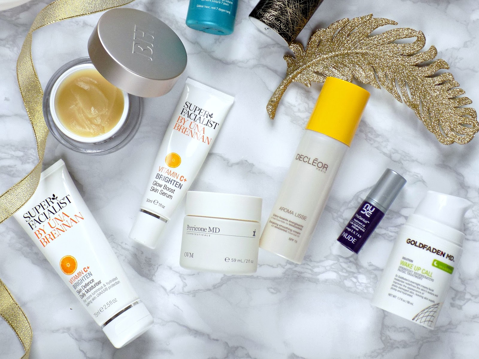 Best beauty discoveries of 2016 - skincare, Perricone MD, Una Brennan, Goldfaden MD