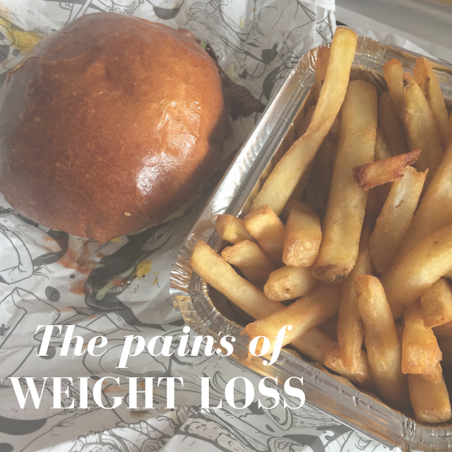 the pains of trying to lose weight