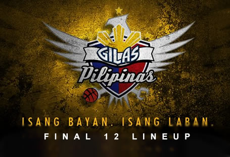 List of Gilas Pilipinas 4.0 Final 12 Lineup 2016