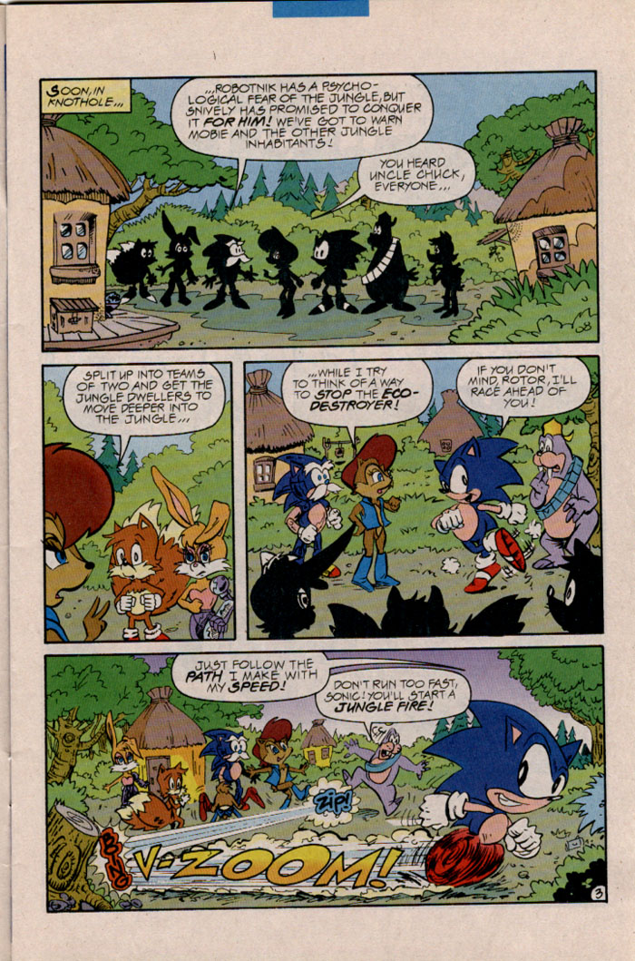 Read online Sonic The Hedgehog comic -  Issue #45 - 4