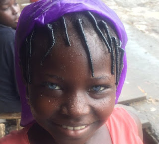 Another girl with blue eyes spotted in Nassarawa (photos)