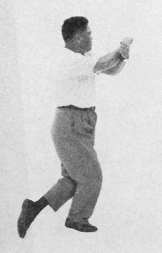 Tai Chi Chuan (Square Form) 44. Turn Around And Kick With Heel