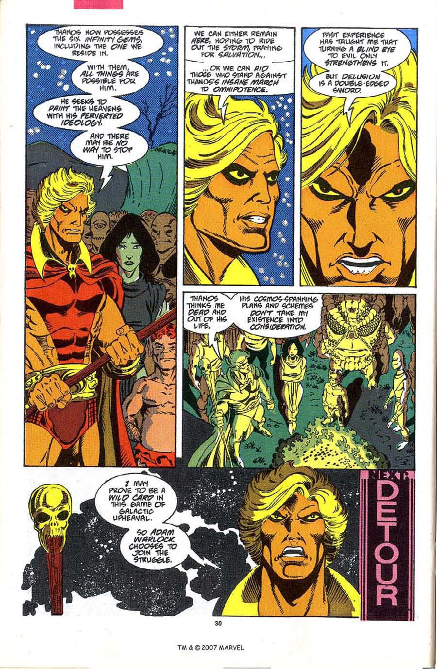 Read online Silver Surfer (1987) comic -  Issue #48 - 32