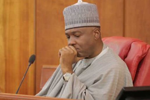 Image result for Ndume tackles Saraki: You can't shut down senate over personal issues