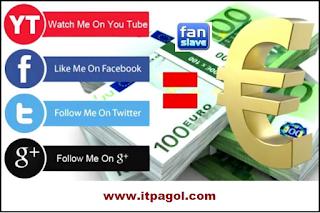Make Money Online With Facebook | Twitter | Google+1