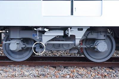 東武鉄道70000系 SC107(TRS-17M)台車