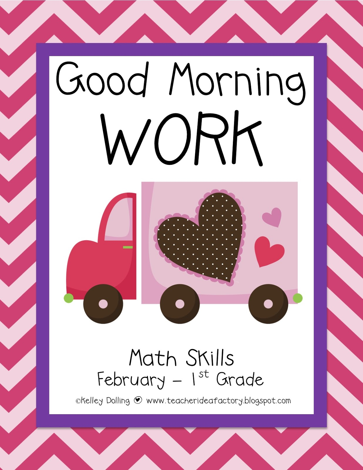 Teacher Idea Factory February Good Morning Work