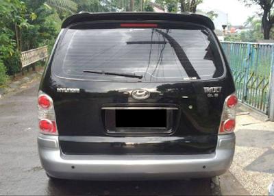 Eksterior Hyundai Trajet