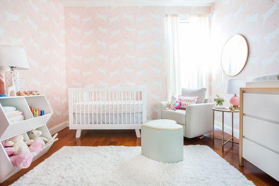 Idées déco chambre bébé fille