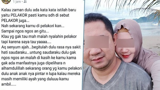 Karma! Istri Sah Yang Sawer Pelakor Ternyata Dapat Suami Hasil Melakor