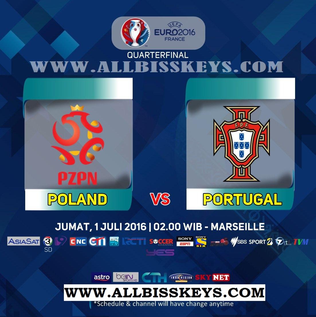 UEFA Euro 2016 | Quarter-Final Poland vs Portugal European
