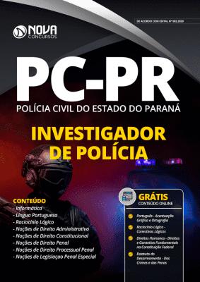 Apostila Concurso PC PR 2020 Investigador de Polícia Grátis Cursos Online