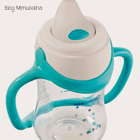 bebedor anti goteo utensilios alimentación bebé blog mimuselina