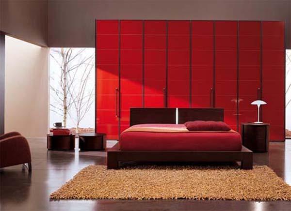 Dormitorio Rojo ~ 10 Dormitorios en color rojo Colores en Casa