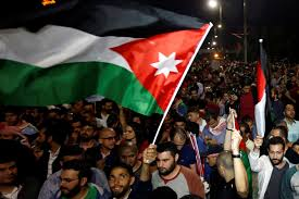 Jordanian policeman stabbed by protester, seriously injured