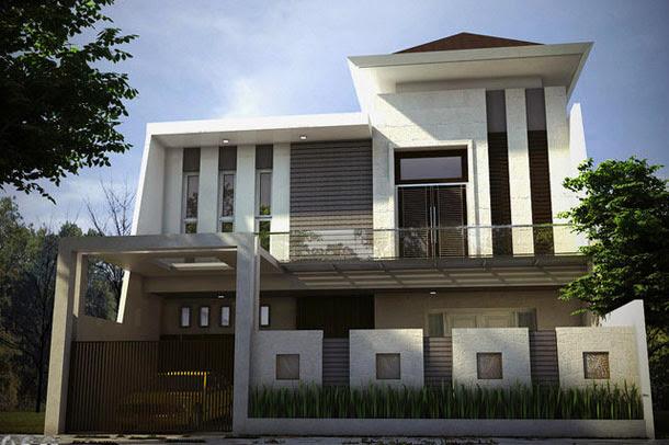 10 Contoh Rumah Minimalis  Yang Inspiratif Desain Rumah
