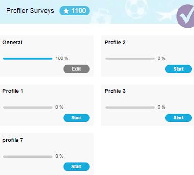 profiler surveys