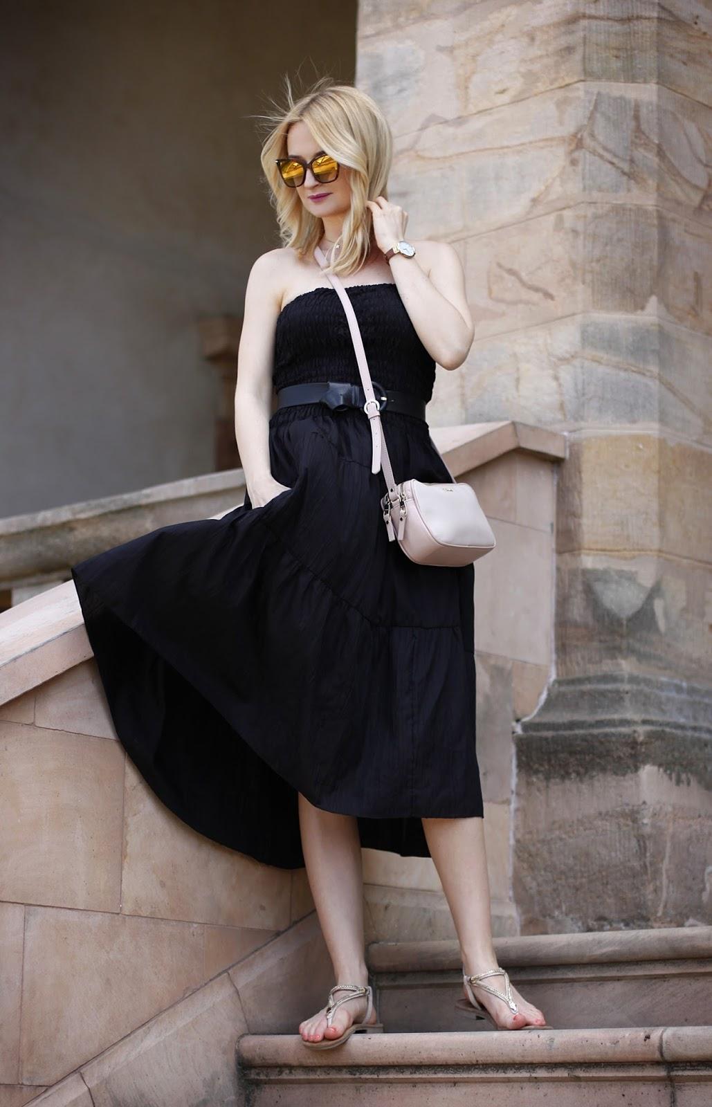 Letnia Czarna Sukienka