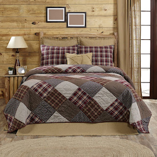 Americana Primitive Rustic & Country Star Quilts and
