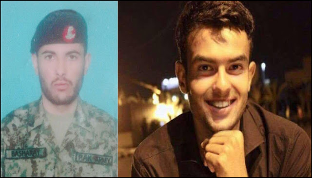 Photos of 2 soldiers who were martyred in North Waziristan attack
