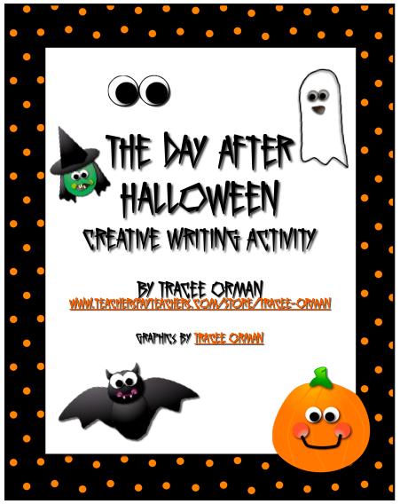 halloween high school writing activities