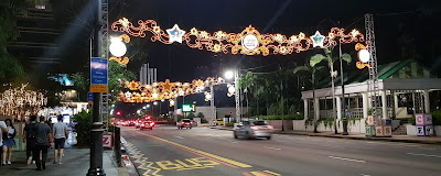 The lights outside Plaza Singapura, featuring a Toy Story theme, on 10 November.