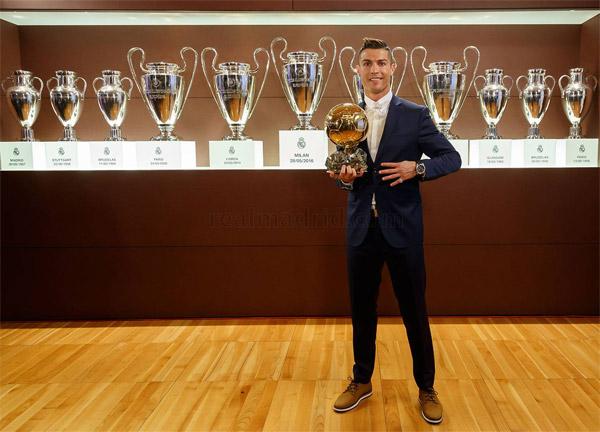 Cristiano Ronaldo Balón de Oro 2016 Cuarto