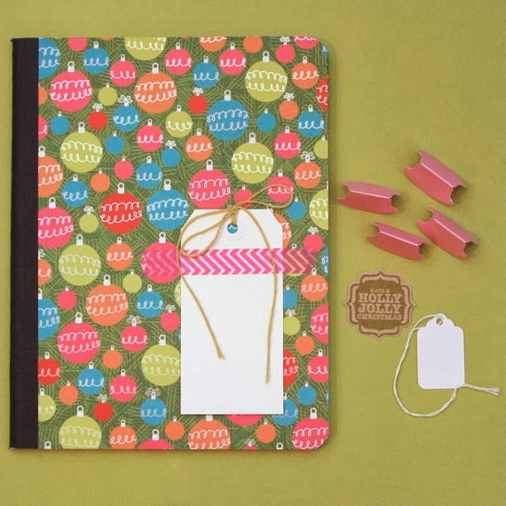 Holiday Composition Book Planner | iloveitall.etsy.com