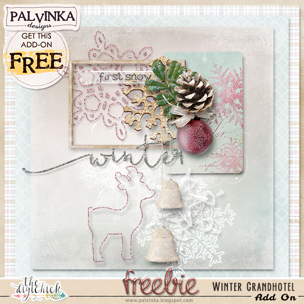 Palvinka Designs - Winter Grandhotel