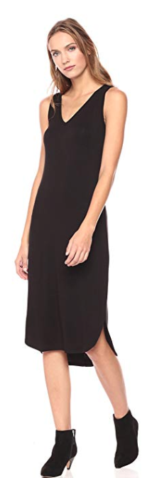 Daily Ritual Black Sleeveless Dress