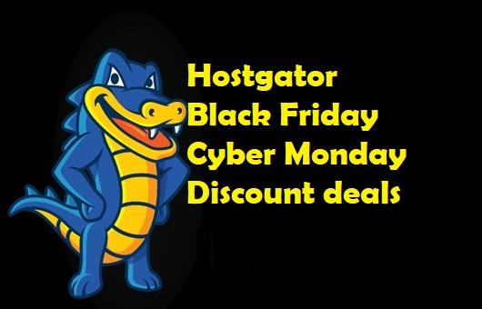 Hostgator Black Friday Deal
