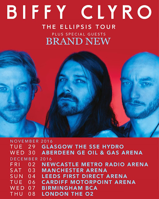 Biffy Clyro UK Tour 2016