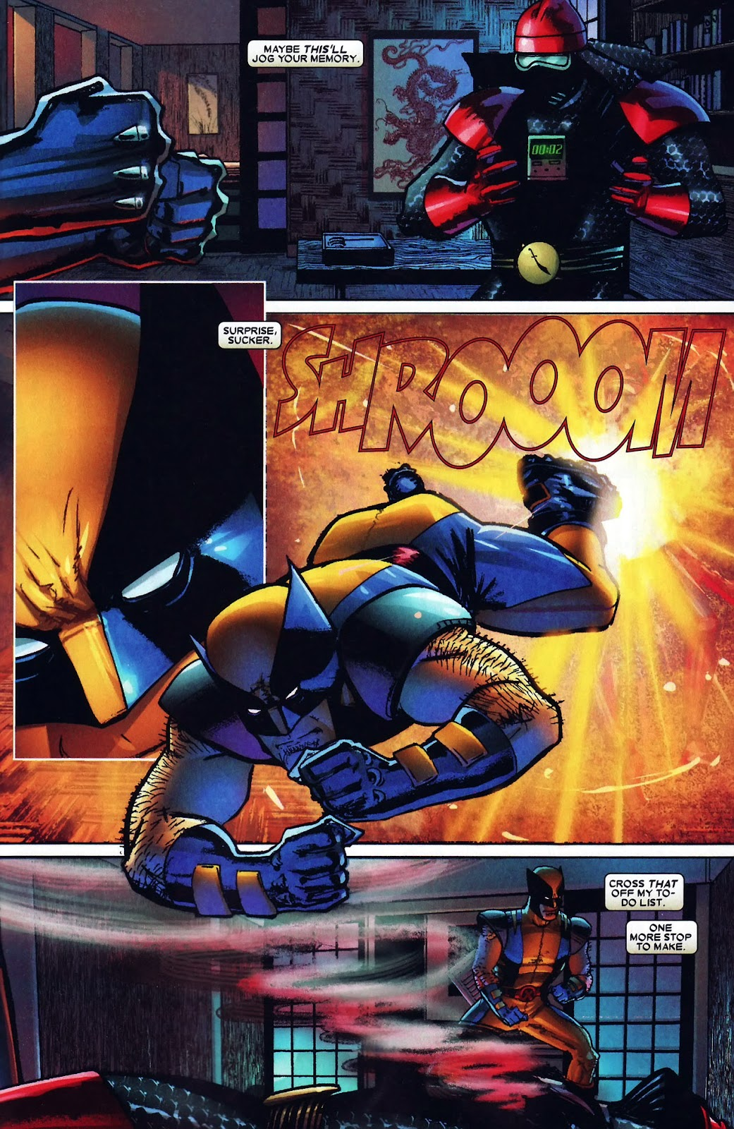 Read online Wolverine (2003) comic -  Issue #60 - 21