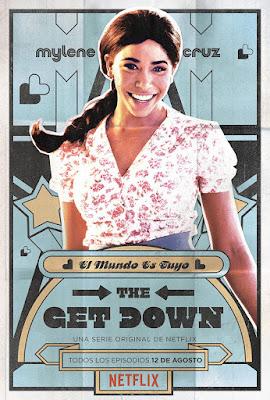 Mylene protagoniza el póster de 'The Get Down'