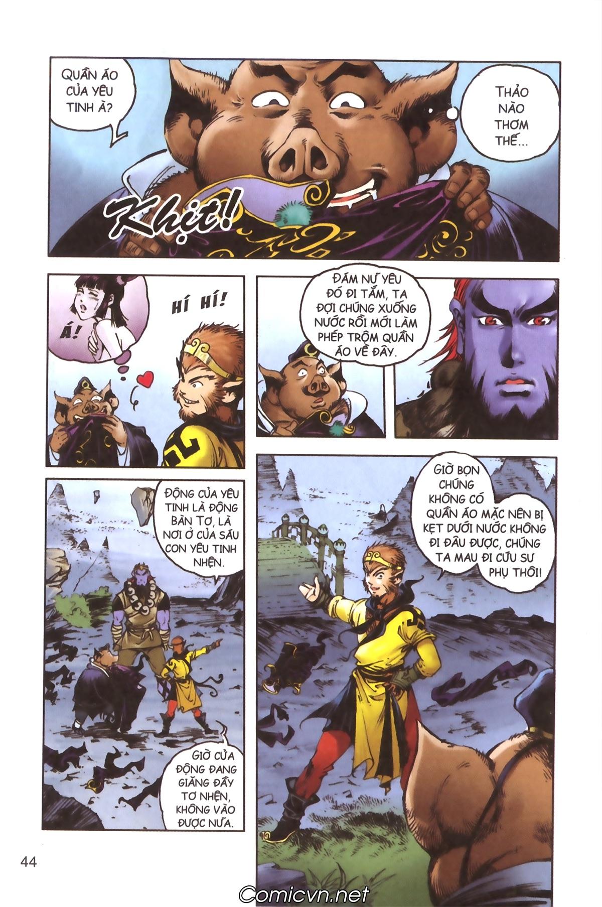 Tây Du Ký màu - Chapter 115 - Pic 10