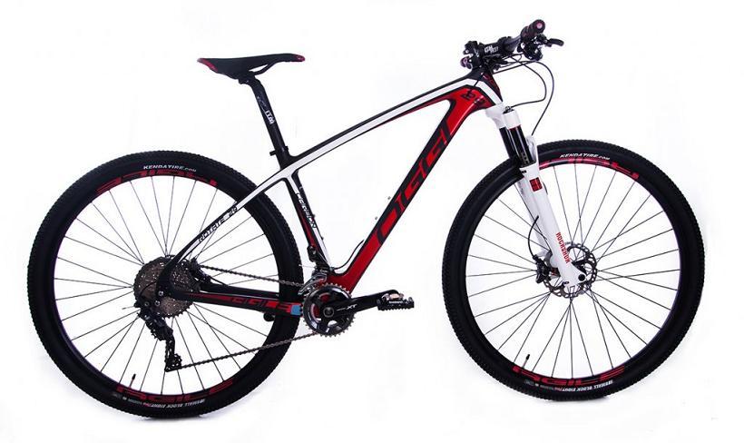 Bicicleta Oggi Agile Pro Team Vermelha