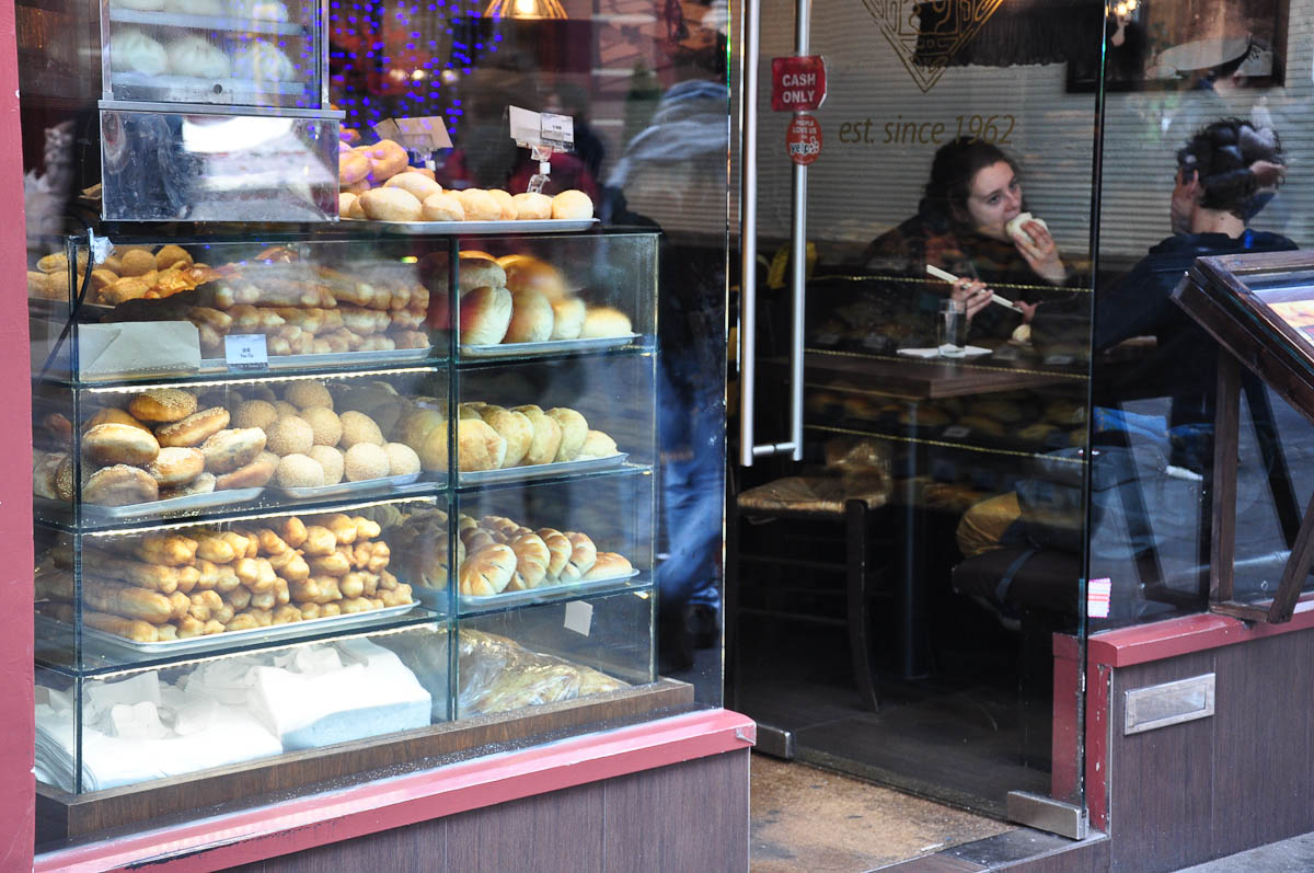 Chinese buns and pastries, Chinatown, London, England