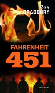 Portada de Fahrenheit 451, de Ray Bradbury