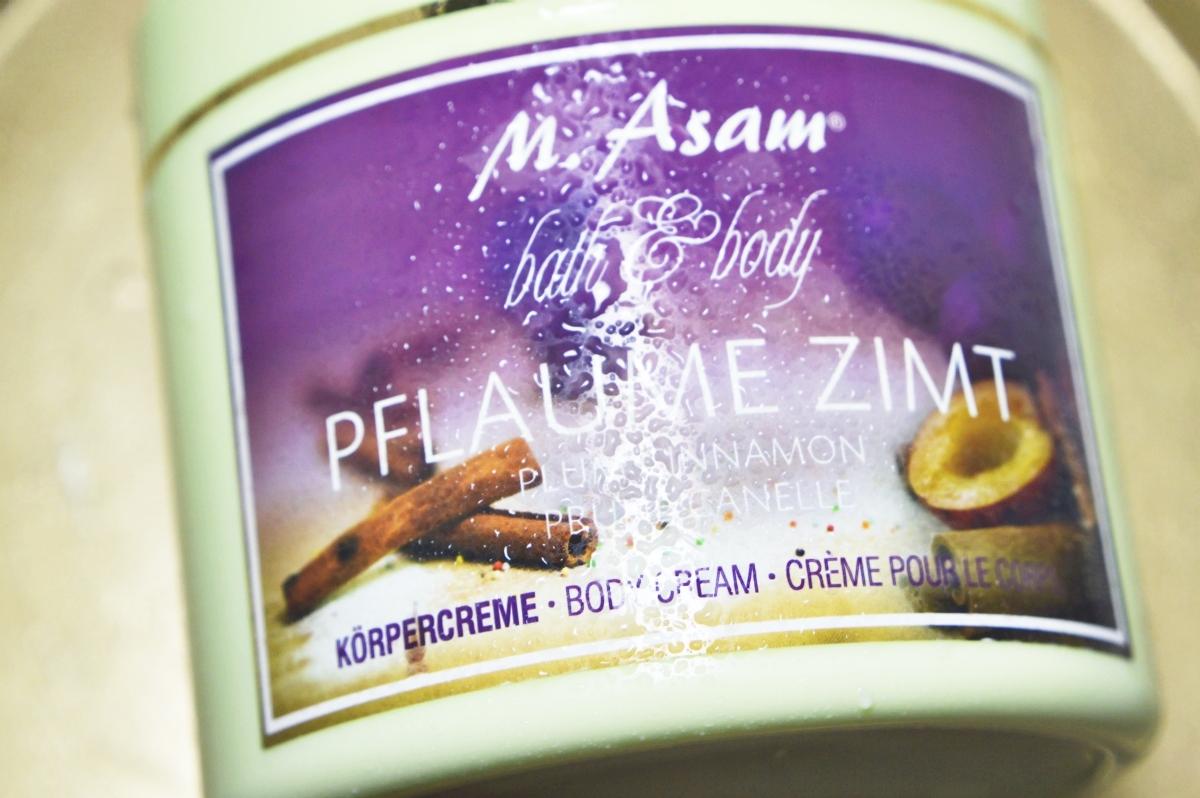 Plum & Cinnamon Body Cream Product Close Up