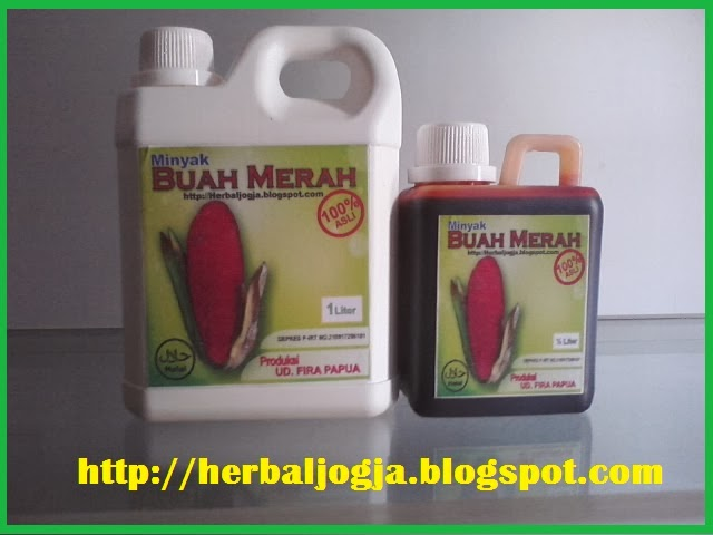 minyak buah merah papua 1 liter