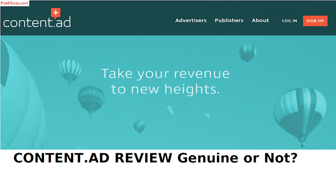 Content.ad Adnetwork Review 2017 -My experience With Proof