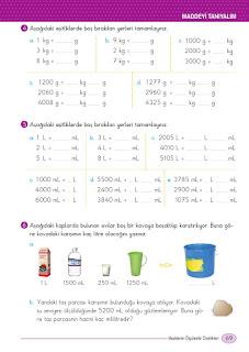 5. Sınıf Fen Bilimleri Ders Kitabı Cevapları Ada Sayfa 69