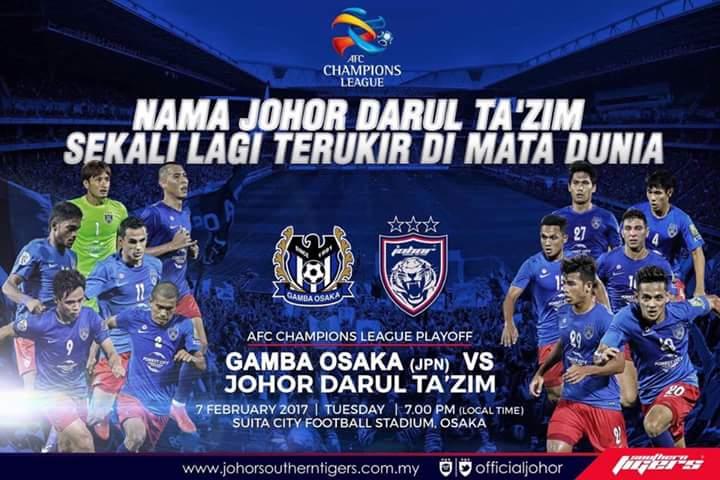 LIVE STREAMING JDT VS GAMBA OSAKA !
