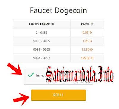 Alamat Faucet DogeCoin Gratis