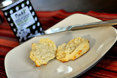 Simple Basil Olive Oil Drop Biscuit - Photo by Taste As You Go