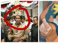 Heboh, Listrik Naik, Jokowi Berharap Indonesia akan Seperti Konoha dalam Kepemimpinan Naruto